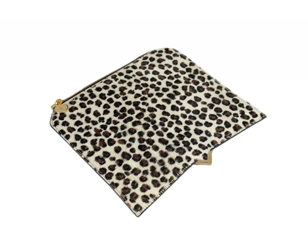 Paris Cover - Leopard Calf Hair