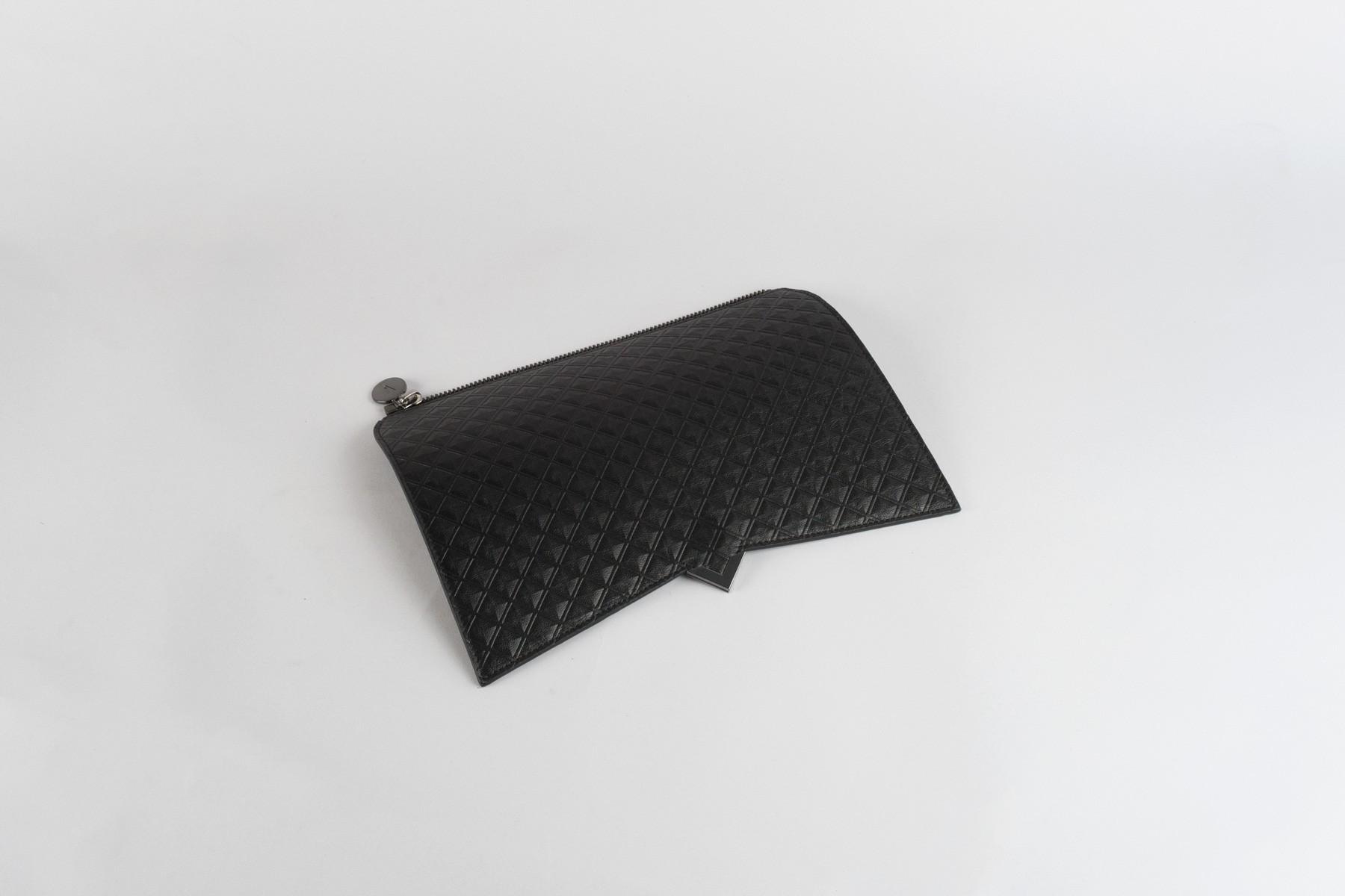 Black Scudo Leather