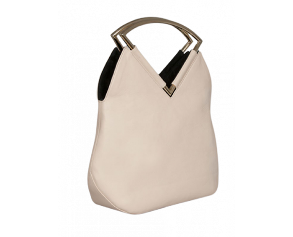 Venice - reversible bag - black and nude