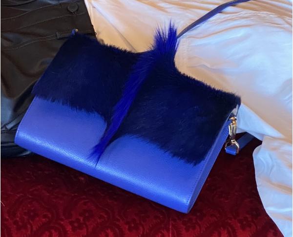 Roma Rabat - Poils Gazelle Punk Bleu
