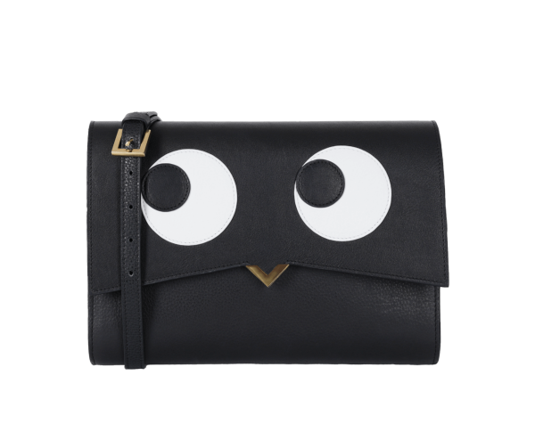 Roma Bag - Black Base and Crazy Eyes Cover