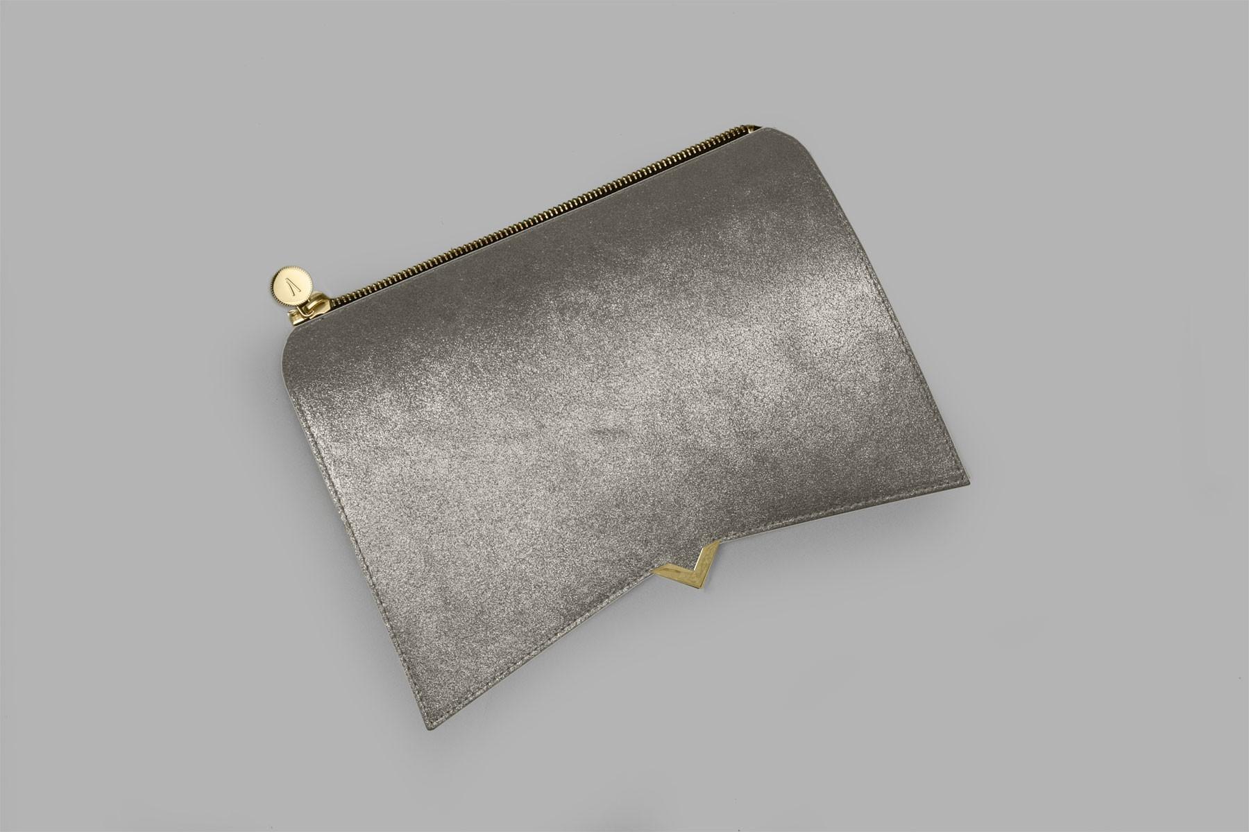 Roma - Cover silver glitter