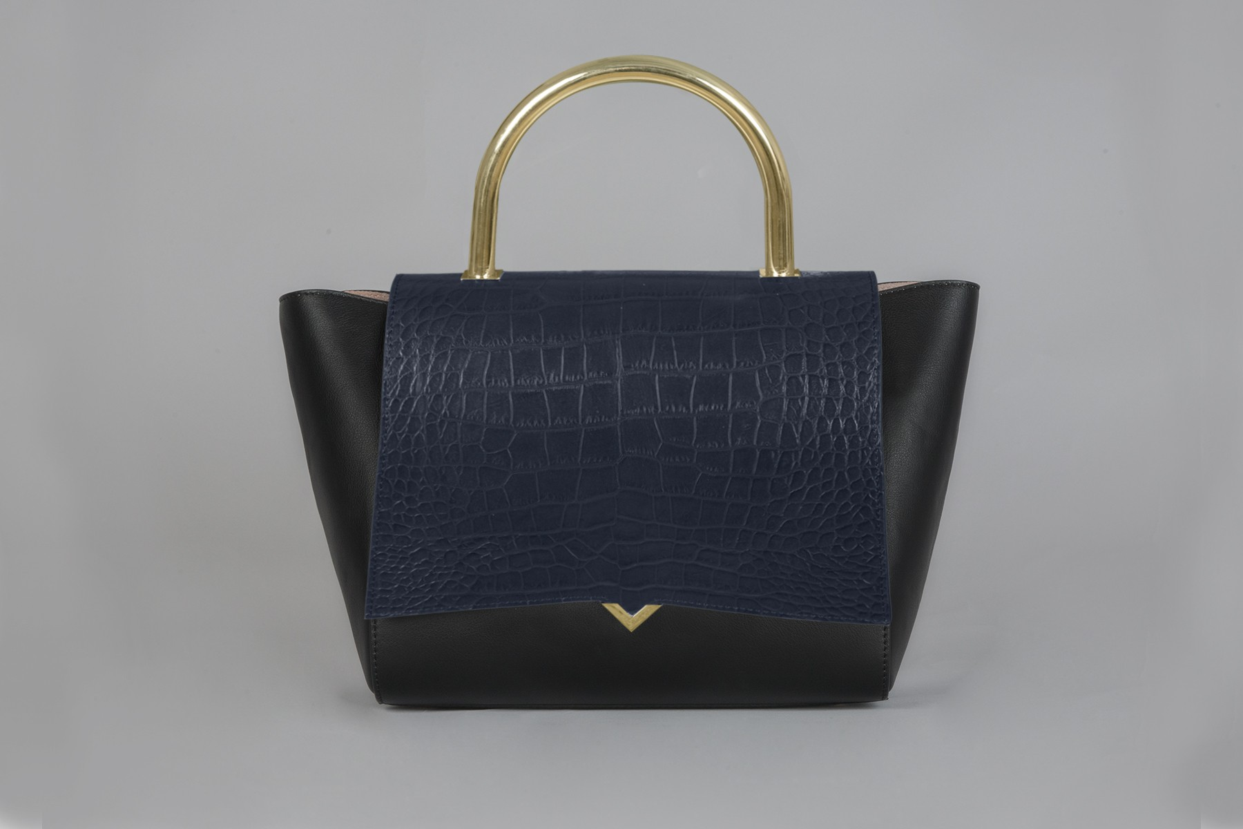 Paris - Cover croco navy blue