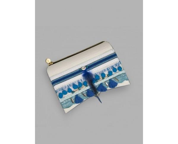Roma - blauw polsbandje