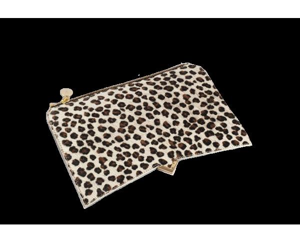 Roma Cover - Leopard calf hair