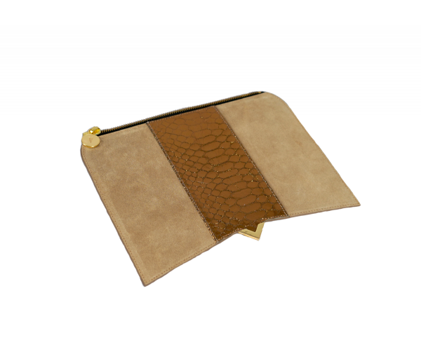 Roma Cover - Leather & Serpent Beige