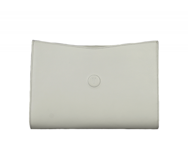 Roma Base - White caviar leather